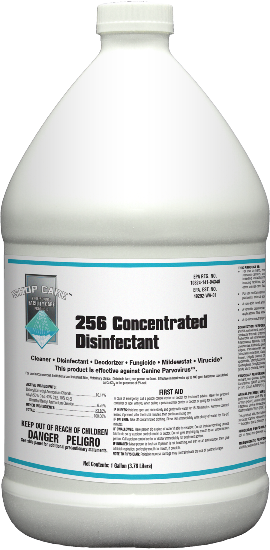 256 Concentrated Disinfectant